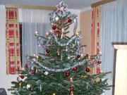 Christbaum der Familie Hörhager
